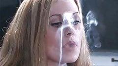 Leah Smoking