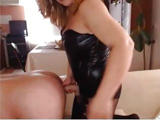 Strap-on assfuck webcam session