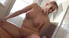 ANGEL ALLWOOD CHUBBY BLONDE FUCKED IN THE SHOWER