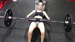 Hip Thrust Gym Camel Toe Big Pussy Rachada Dividida Pacote