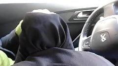 beurette en hijab  suce  rebeudamour666