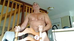 Daddy Fucks His Chair Using a Pocket Pussy