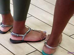Nice ebony feet at burger king