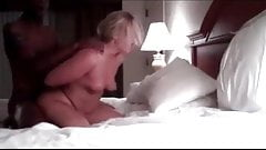 White wife fucked doggy style by some fine BBC