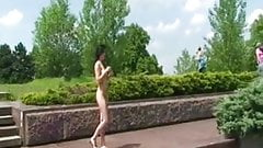 Compilation pretty girls naked in public