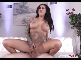 Hot Big Tits MILF With Tattoos Lily Lane Cheats On Husband
