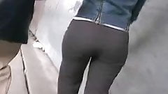 Candid Ass in Pants 02. Grey & Hot! (+slow motion)