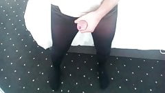 Cum in Sisters School Tights