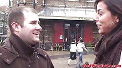 Petite blonde hooker fucking a tourist