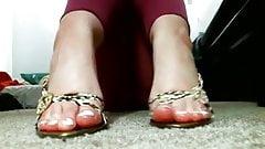 Hot Goth teen Sweaty feet Self Worship