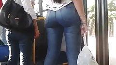 Bus buenisimo ass hard buttocks