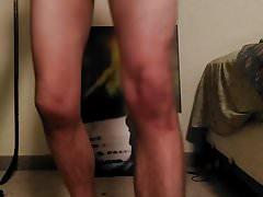 White boy strips his girly panties