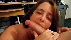 Piper enjoying cock