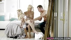 Alexis Fawx joins stepdaughter Piper Perri in a threesome