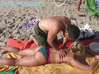 Beach Boobs & Body Massage