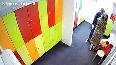 Hidden camera in the locker room 3