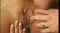 Horny housewife fucks with her husband best friend