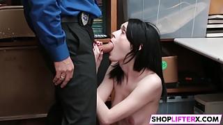 Sweety Ivi Gets Huge Penis For Shoplifting