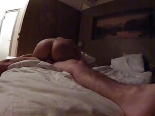 Amateur girl with nice ass riding me while I secretly record
