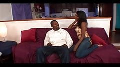 Gorgeous Ebony Milf Takes A Hard Pounding From The Back