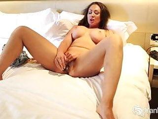 Busty Yasmin Toying Her Beaver