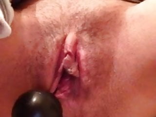 LilFuckSlut Stuffing Her Pussy And Ass
