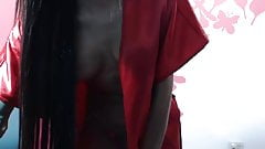 Episches fitte Schätzchen in Rot vor der Webcam von sharingan98