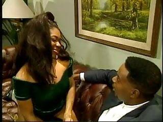 Cute Ebony Teen Janet Takes In A Huge Cock