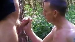 Hot Men Groupsex in the Forrest