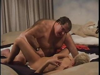 Fat Older Man with Young Whore