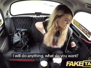 Preview 4 of Fake Taxi Cute blonde tax inspector likes kinky rough sex