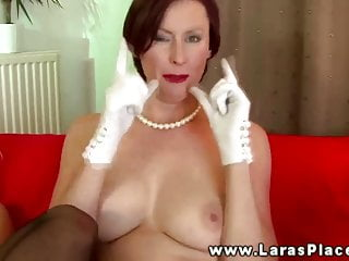 Mature stocking babes strapon fucking and cant get enough