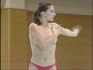 Young gymnastics photo girl romanian