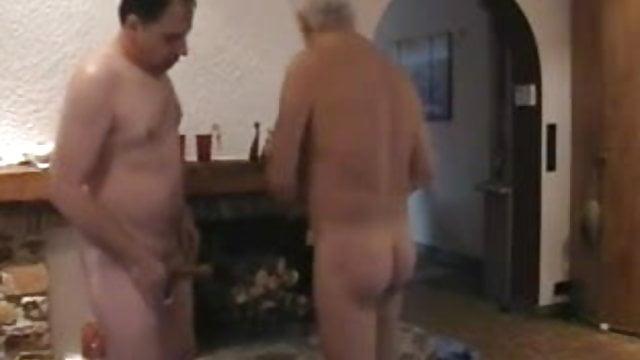 Abueletes cachondos folleteando