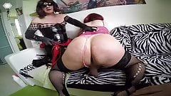 Shemale spanking