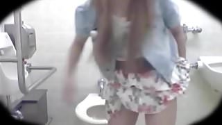 Hidden Cam in Women's restroom.