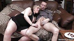 Picked up busty bitch swallows his huge dick's Thumb