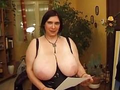 Mature French BBW Olga & Friends 4