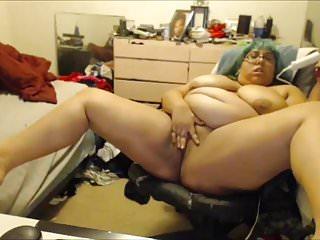 Bbw Shell Chan masturbation