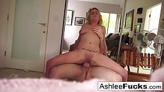 Ashlee and James fuck all around the house porn image