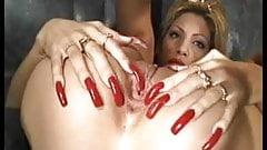 Hot slut maria fucked with long nails