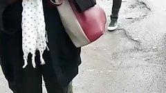 Kenyan Man Masterbating in Public