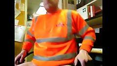Jerking At Work Cumpilation