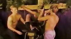 Vintage Gay Twink Group Sex