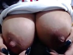 hot mom sows bit tits