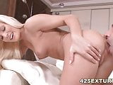 Candee Licious's tight pussy fucked by a big dick