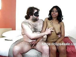 Year Old Big Boob Ebony Mya Gets Interviewed While Giving