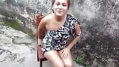 Brazilian slut showing your ass to friends