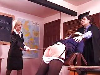 Good Old School Caning
