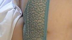 skyblue panties for a lovely ass MILF